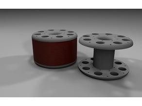 Electromagnet Coil Bobbin 40OD x 20W x 16ID x 10mm inner hole