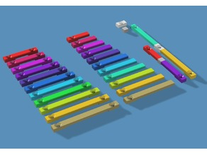 Simple ribbon cable holder (28 AWG, 1.27mm)
