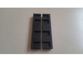 Holder Tray for TUSH spool roller supports
