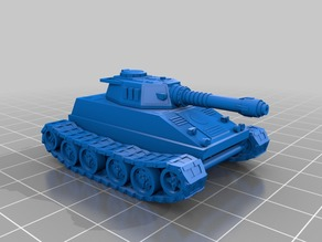 15mm Tiran tank on T1 chassis