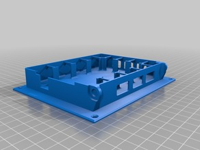 REMIXED Arduino Mega + RAMPS 1.4 Case for mounting on ATX