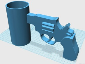 Cup with Gun Handle