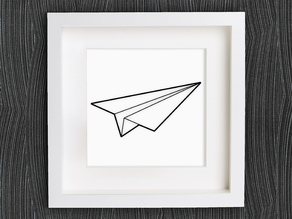 Customizable Origami Paperplane