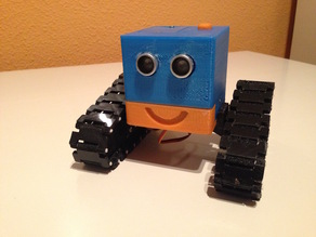 ugobot#1. andromeda. A Little robot for youngest people at home
