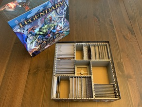 Marvel Legendary Organizer (with Expansions)
