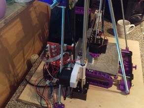 Anet A8 Frame Brace X-Axis Reinforcment