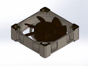 40mm Noctua Fan solidworks CAD