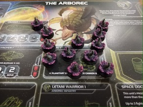 Arborec Ground Forces Token for Twilight Imperium