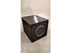 Micro-Sub Enclosure For Tang Band W3-2108
