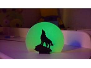 Wolf, moon and nightspirits