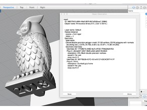Owl Test Print - 35 mm