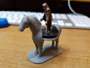 Horse for D&D figures