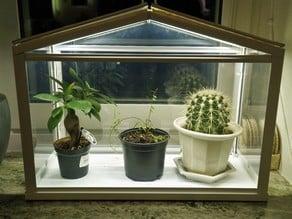 IKEA SOCKER greenhouse LED light strip holder