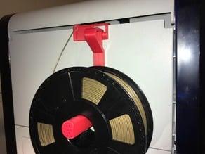 Rear Spool Holder and Filament Guide for Da Vinci 1.0a printers