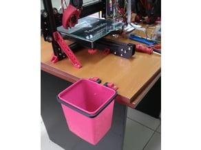 Filament garbage bin holder