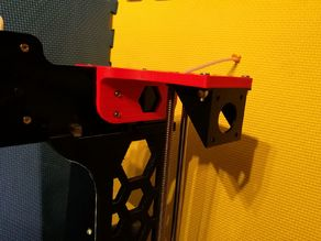 Anet A8 reinforced shoulder with mount