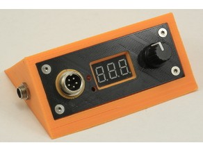 Case for soldering station with T12 tips