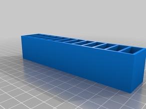 My Hubsan X4 battery holder (12 no tray)