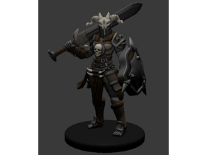 Orc Fighter Miniature