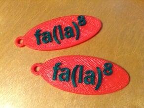 fa(la)8 Keychain