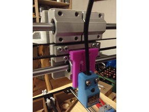 Anet A8 Stock Bed Level Sensor Mount for Bowden Setup