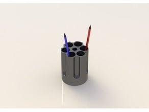 Revolver cylinder - Pencil Holder