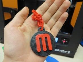 Single Extruder MakerBot Pendant