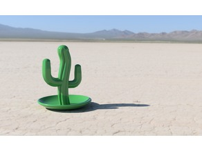 Cactus Ring Stand (Jewelry Holder)