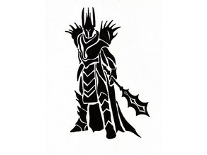 Lord of The Rings Tribal Sauron