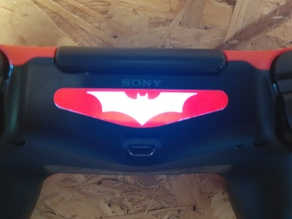 Batman Sticker PS4 controller Led, laser cut