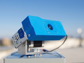 Logitech C920 Webcam Solar Tracker Mount and Cover