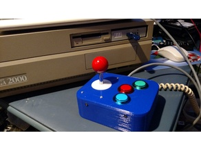 Commodore Amiga 3-button Joystick