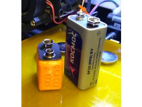 Battery adapter CR2032 to 6F22(9v)