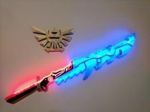 Zelda: Breath of the Wild – Guardian Sword with Improved Handle Area