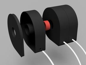 Airtight case for 3DJake's 250g spool