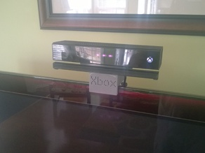 Adjustable TV mount for Xbox One Kinect