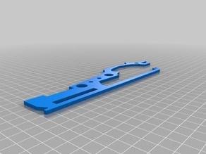 6-Shooter rubber band gun (split into individual parts)