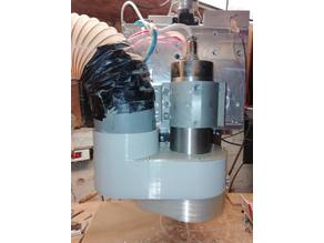 CNC router 80mm Spindle Dust Shoe