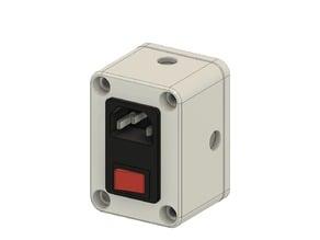 C14 Power Socket Box
