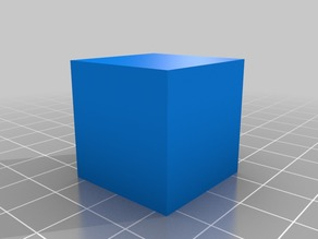 Cube and Pedestal