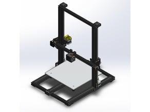 CR-10 OEM - Complete 3D Model
