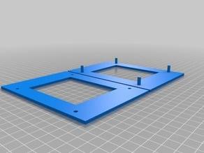 6x7 Negative Holder for Digitizing -JCHP
