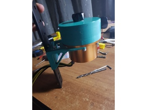 Water cooling pump support
