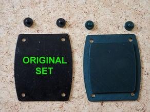 Nexus Metal Detectors back plate & bolts