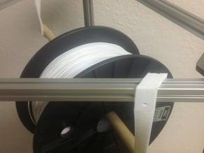 Parametric twisted underslung spool brackets