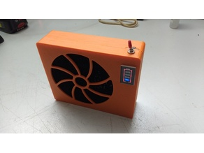 Solder fume Extractor - battery powered