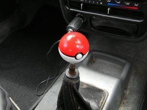 Pokemon Pokeball Gear shifter knob