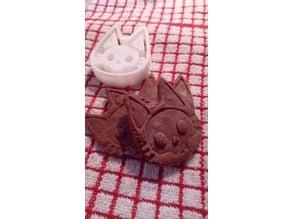 Skellie Cat Cookie Cutter