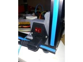 TronXY X5S Power Bracket Switch