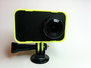 Xiaomi Mijia 4K Camera case (GoPro compatible) and lens cover